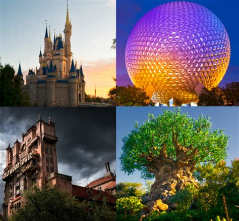theme park names around the world when are the best days to visit each disney world theme park