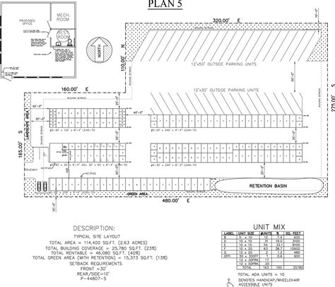 Rv Storage Plans by Site Plan Assistance Trachte Building Systems