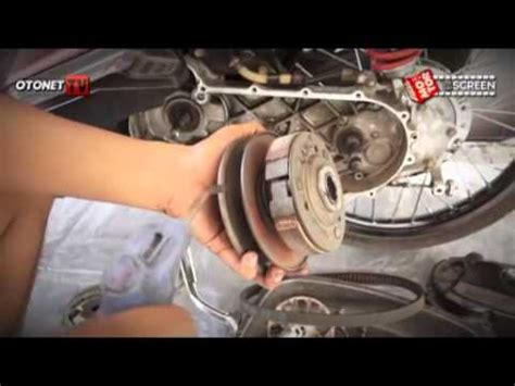 Spare Part Cvt Mio changing the cvt belt and roller replacement on a sym h