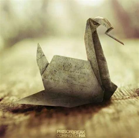 Prison Origami Bird - prison break season 5 premiere ten resurrection spoilers