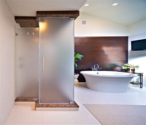 New York Shower Door Contemporary Bathroom New York New York Shower Doors