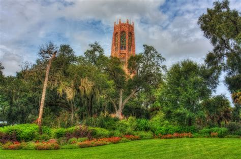 Bok Tower Garden by Bok Tower Gardens Horizontal Glow Matthew Paulson