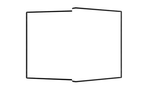 3d box template template