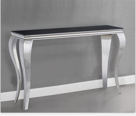 steel console table legs stainless steel console table legs console table ideal