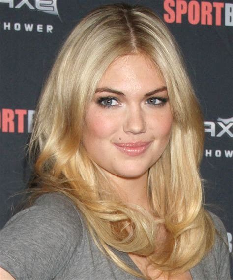what is kate upton natural hair color kate upton long straight casual hairstyle medium blonde
