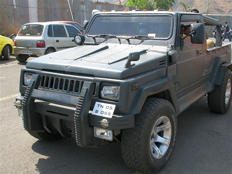 jeep jipsy maruti suzuki gypsy to hummer hx conversion