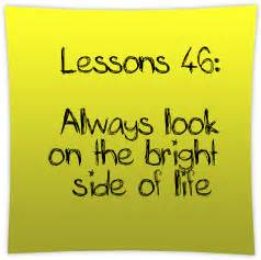 bright side el always look on the bright side of life
