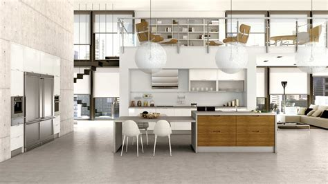 Minimalist Kitchen Designs by Muebles De Cocina En Lacado Blanco Y Madera