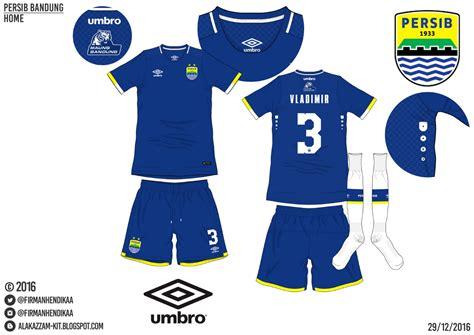Kaos Kaki Persib Bandung Home 2016 persib bandung umbro alakazzam kit design