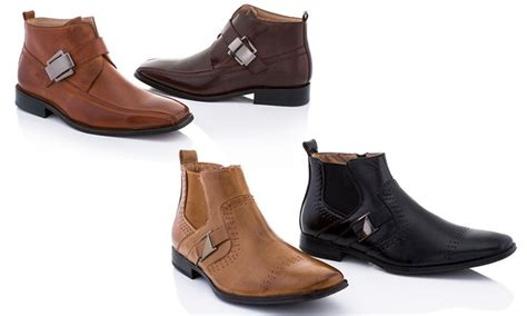 Adolfo Casual Boot Shoes S Baldo adolfo s charles and boots groupon