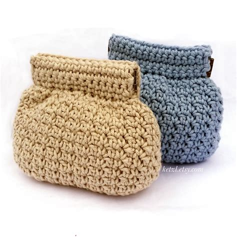 crochet pattern frame purse purse crochet pattern coin purse pouch small squeeze frame