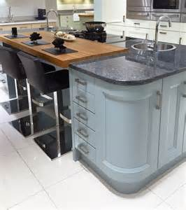 Granite Kitchen Islands With Breakfast Bar Contemporary Kitchen Island Island Design And