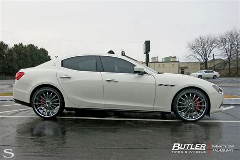 Wheels Maserati Ghibli Savini Wheels