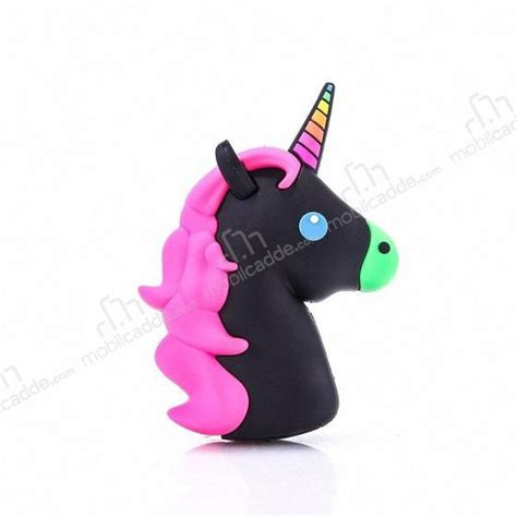 Powerbank Unicorn 8000 Mah mili unicorn 2600 mah powerbank siyah yedek batarya
