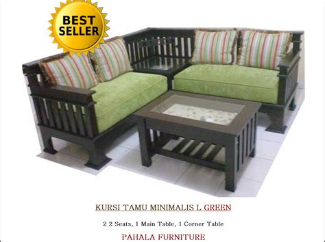 Kursi Tamu Warna Hijau jual kursi tamu jati minimalis l best seller furniture jati pahala furniture