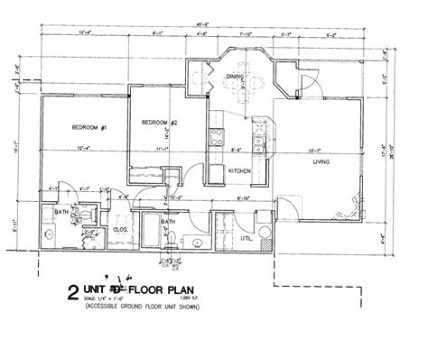 simple floor plan with dimensions simple house blueprints with measurements and apartment