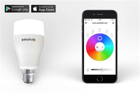 android light easybulb rgbw 9w led smart light bulb iphone and android controlled