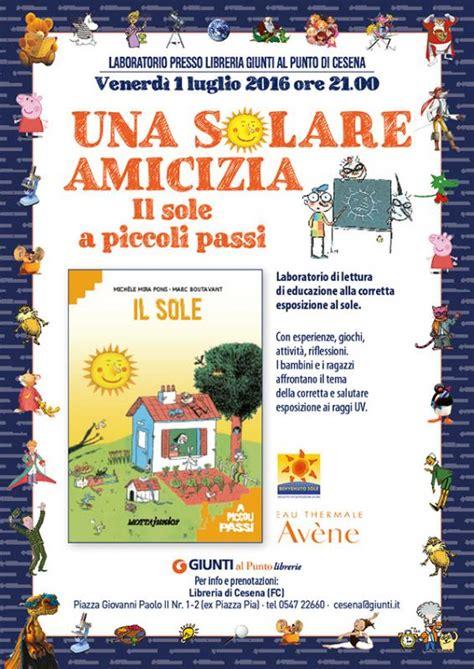 libreria giunti cesena una solare amicizia laboratori di promolettura cesena fc
