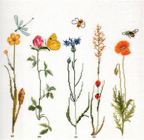 schemi ricamo fiori grande raccolta di schemi e grafici per punto croce free