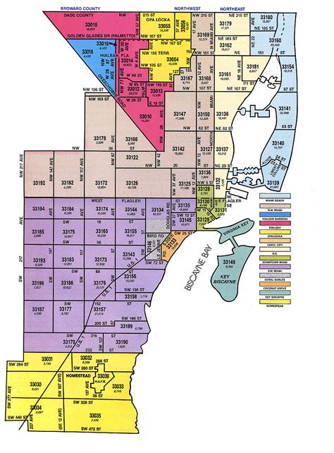 zip code map florida 4 miami zip codes real estate website