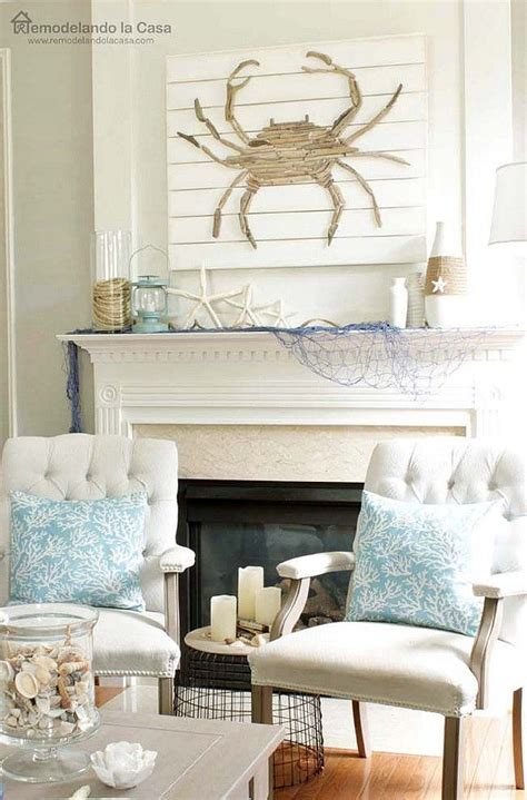 living room mantel decor best 20 rustic decor ideas on nautical