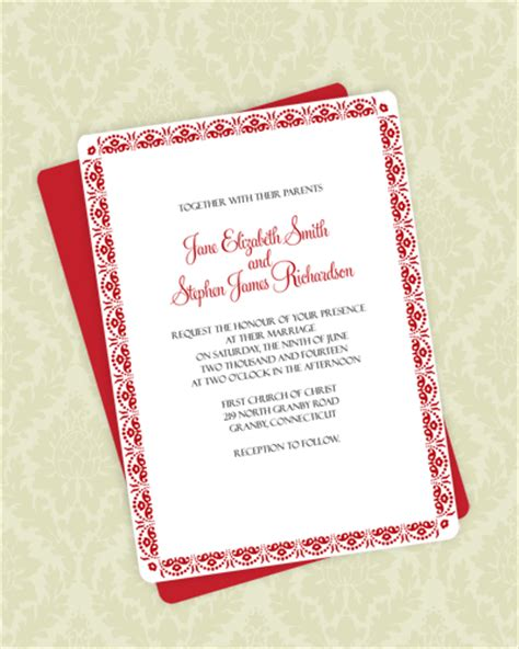 m by staples templates a7 scallop cards floral scallop border invitation rsvp wedding