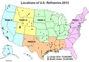 refineries map refining 101 afpm