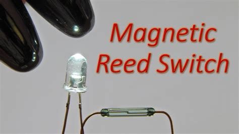 Reed Switch Magnetic Switch Saklar Magnet simple reed switch magnetic switch circuit to glow a white led