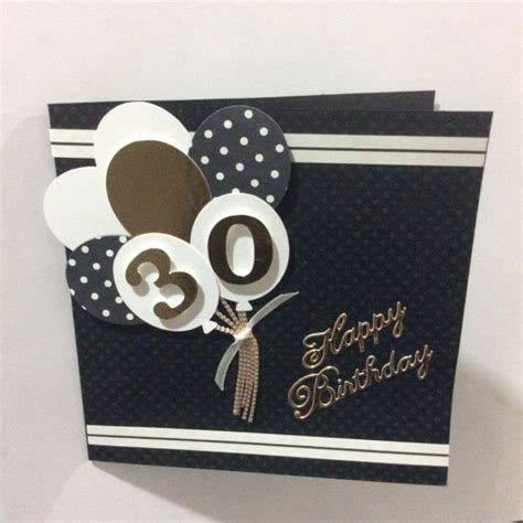 Handmade 30th Birthday Card - best 25 30th birthday cards ideas on 30