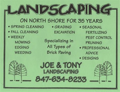 landscaping flyers templates flyers for landscaping flyers www gooflyers