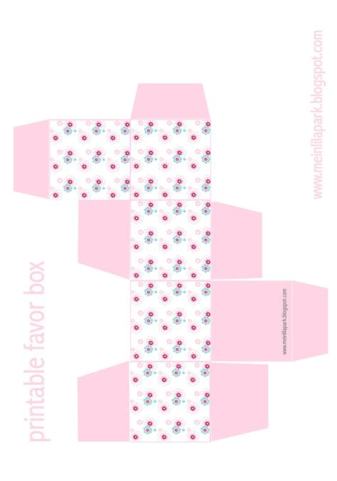 free printable templates for gift boxes free printable floral diy gift box ausdruckbare