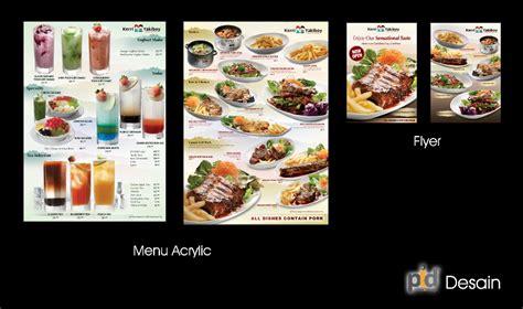 design untuk menu desain menu desain menu restoran yang efektif