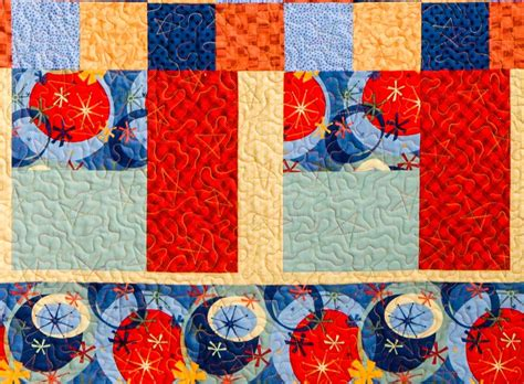 Patchwork Quilts For Beginners - rectangles and squares a beginner patchwork quilt