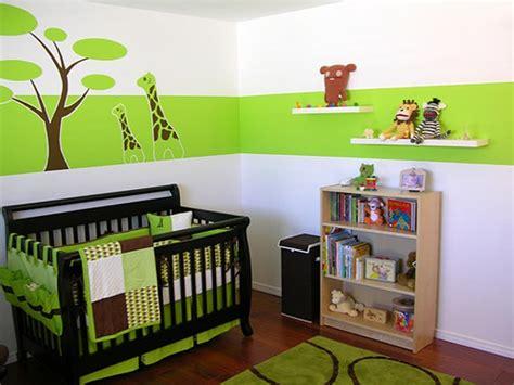 chambre bebe verte 7 id 233 es de chambres de b 233 b 233 joliment teint 233 es de vert