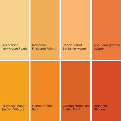 shades of brown paint 17 best ideas about orange paint colors on pinterest
