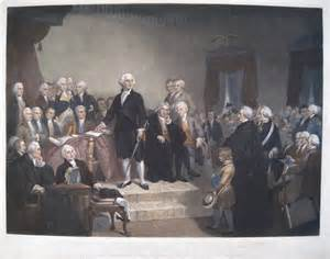 who were the members of washington s cabinet inaugural speech of president george washington and