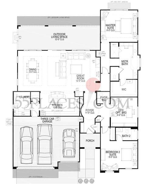rialta floor plan rialta floorplan 2408 sq ft robson ranch texas