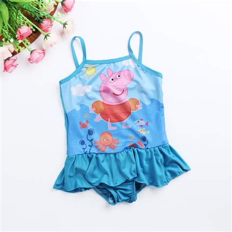 Cute Toddler Girl Bathing Suits | 2015 kids one piece swimwear cute toddler swimsuits baby