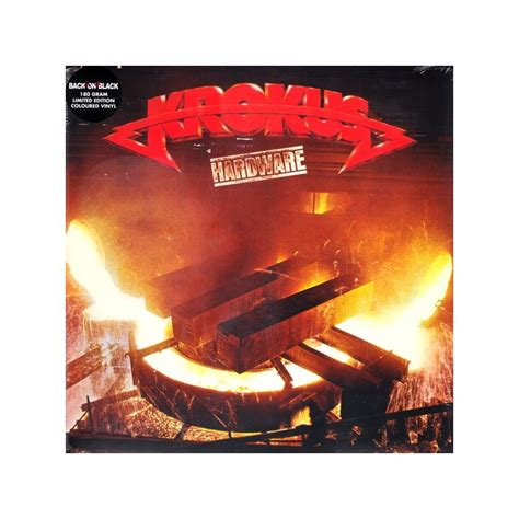 Lp Special Edition krokus hardware 1 lp limited edition coloured 180 gram vinyl pressing najlepszamuzyka pl