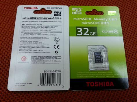 Toshiba Micro Sd 32gb Memory Sd Card Murah toshiba 32gb microsdhc card