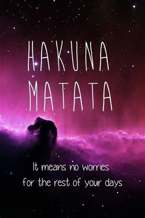 Hakuna Matata Home Screen Wallpaper Quotes Iphone king and king