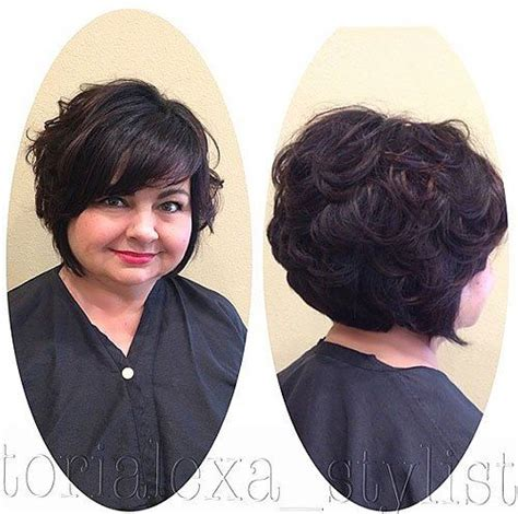 haircut size 5 30 stylish and sassy bobs for round faces curly