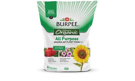 all natural flower food all natural flower food burpee natural organic all purpose