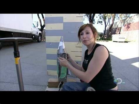 Mythbusters Folding Paper - kari byron folding paper videolike