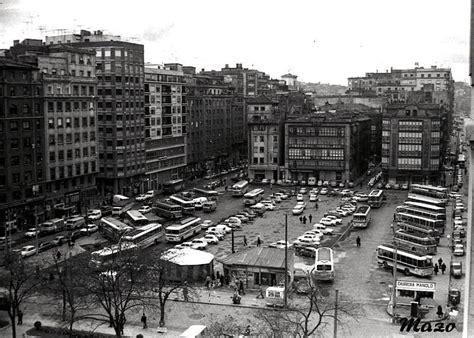 fotos antiguas santander la plaza de las estaciones cuando estaba a cielo abierto
