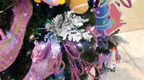decoracion de arboles con cinta varias ideas para decorar arbol de navidad con mallas y mo 241 os 2018