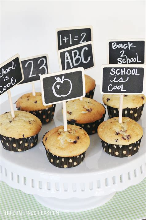 School Morning Muffins by Back To School Muffin Toppers The Crafting