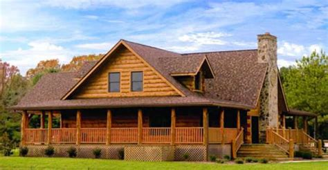 log cabin home with wrap around porch big log cabin homes wrap around porch blue ridge log cabin for 93 539
