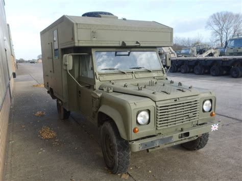military land rover land rover 130 defender wolf lhd ambulance ex military for