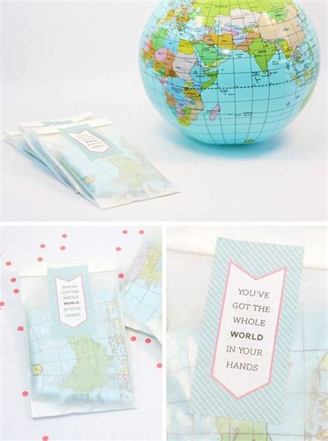printable birthday favors free printable party favor labels for world globe themed